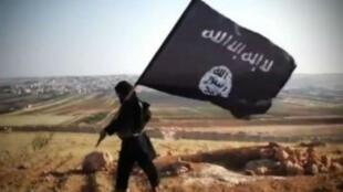 Image extraite d'une viidéo de propagande de l'organisation État islamique.