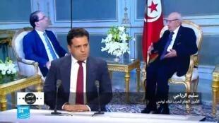 أمين عام حزب نداء تونس سليم الياحي