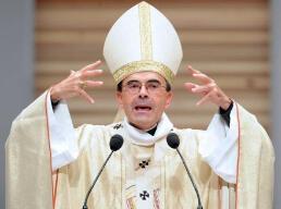 Le cardinal archevêque de Lyon et primat des Gaules, Mgr Philippe Barbarin.