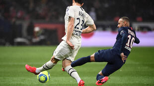 The Ligue 1 season was declared over with 10 rounds of games unplayed, and Paris Saint-Germain were declared champions, due to the coronavirus pandemic