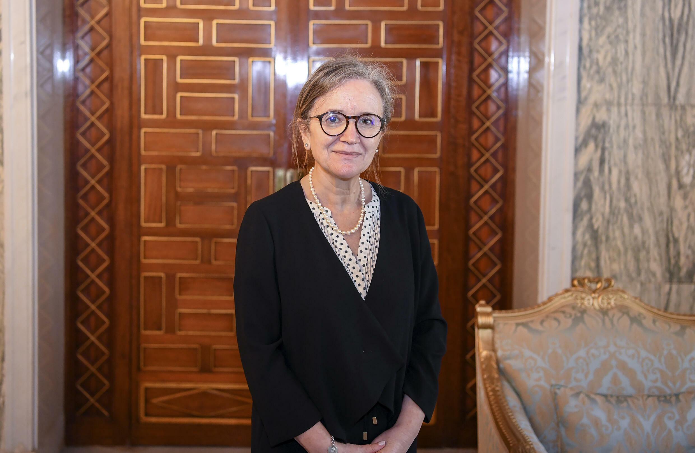 Una foto de Najla Bouden comunicada por la Presidencia de Túnez. Primer mujer nombrada primer ministra en la historia del país