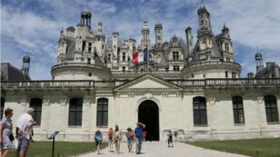 Le château de Chambord, dans le Loir-et-Cher, le 13 juin 2017.