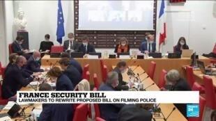2020-12-01 10:01 France backtracks on hardline security bill amid public outcry