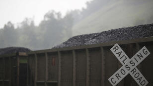 Un transport de charbon au Kentucky, dans le midwest américain.