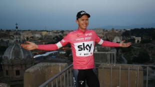 """""""Je suis ravi que l'UCI m'ait blanchi"""", a réagi Chris Froome, quatre fois vainqueur sur le Tour de France."""