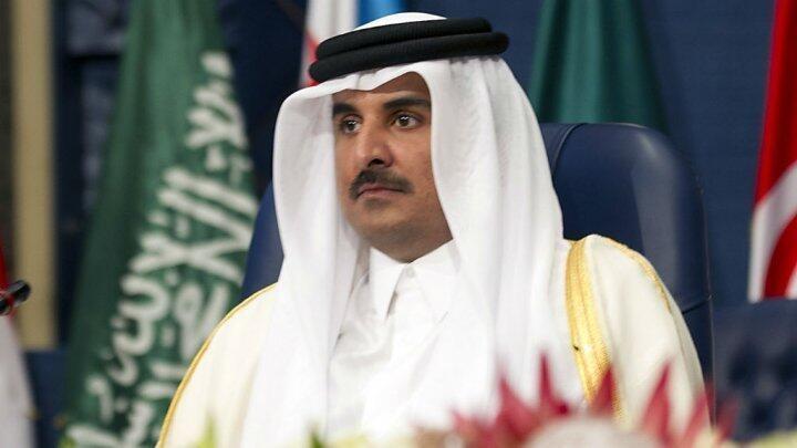 - أمير قطر الشيخ تميم بن حمد آل ثاني