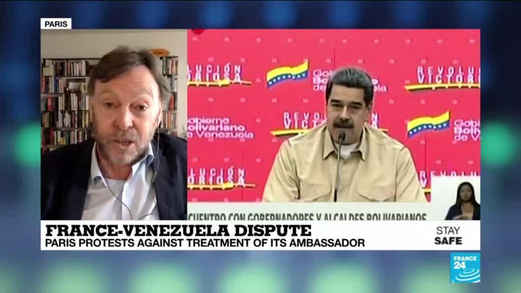 2020-05-15 14:20 France protests against treatment of ambassador to Venezuela, left without water or electricity
