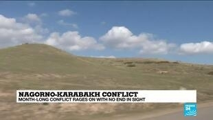 2020-10-27 14:10 Armenian diaspora joins the flight as Nagorno-Karabakh truce breaks down