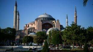 متحف آيا صوفيا في إسطنبول.