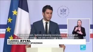 2021-01-27 15:00 New coronavirus cases rise in France, third national lockdown feared