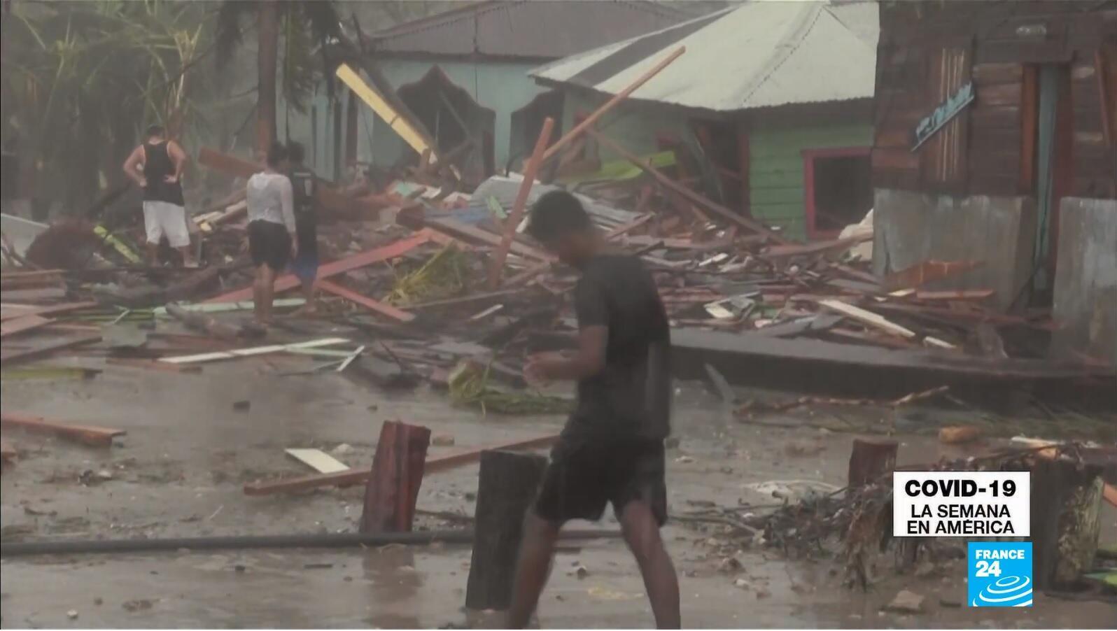 Covid-19 La Semana en América - doble emergencia Centroamérica