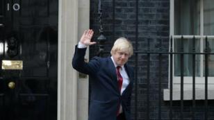 رئيس بلدية لندن السابق بوريس جونسون