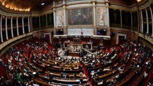 Vue d'ensemble de l'Assemblée nationale, le 1er août 2018.