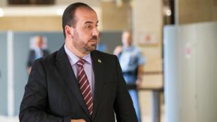 Nasr Hariri, président du nouveau comité unifié de l'opposition syrienne, à Genève en juillet 2017.
