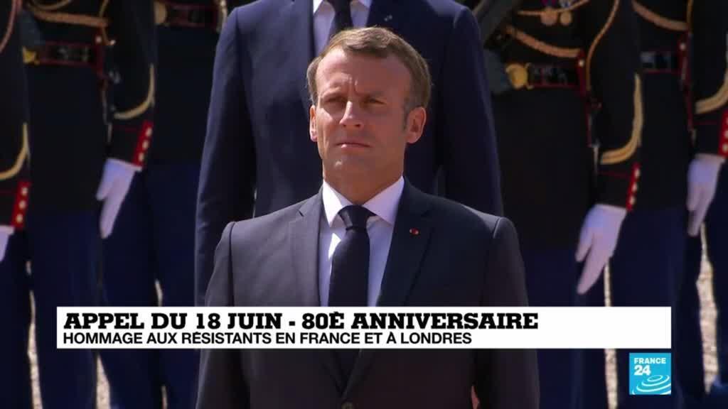 2020-06-18 11:35 Appel du 18 juin : 80 ans après, le discours du général de Gaulle résonne toujours