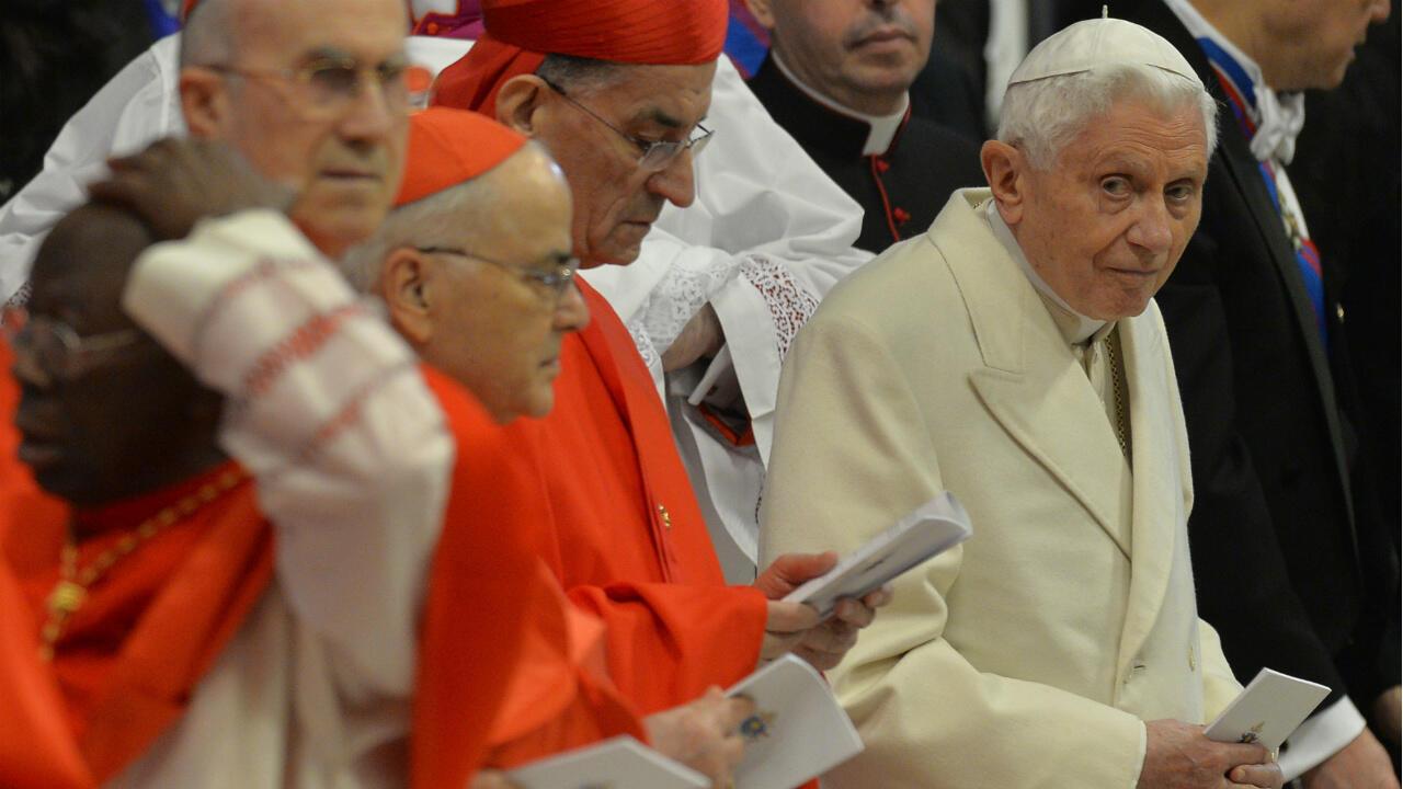 13012020 Pope Benedict XVI