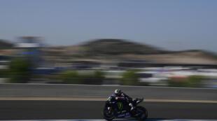 Maverick Vinales was fastest in Jerez on Friday