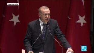 2019-12-26 14:05 Turkish President Recep Tayyip Erdogan: Parliament to vote on Libya troop deployment