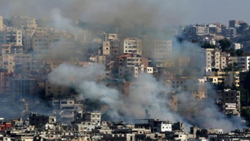 مخيم عين الحلوة في جنوب لبنان 19 آب/أغسطس