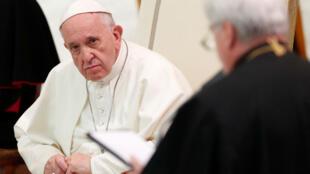 El papa Francisco durante una audiencia en el Vaticano el 6 de octubre de 2018.