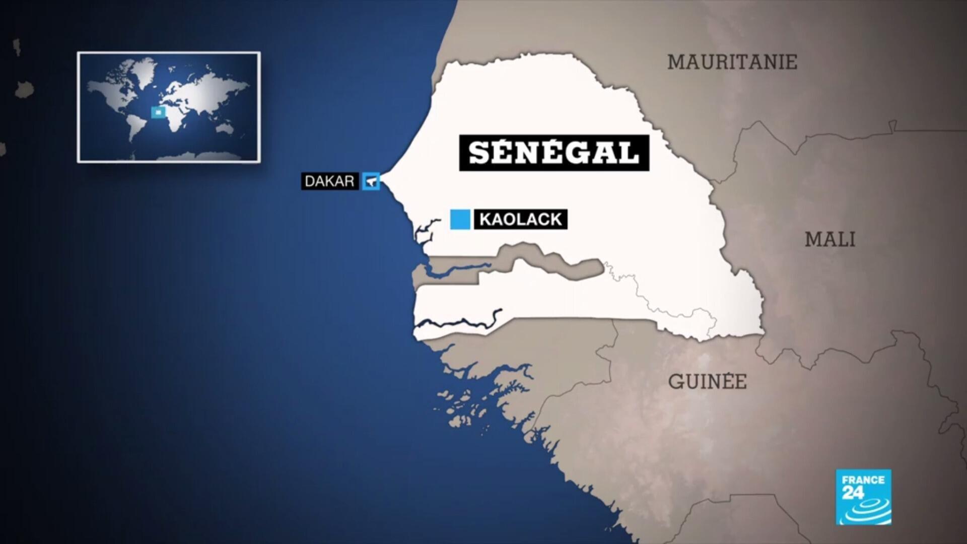 De fortes crues ont touché les régions de Dakar et de Kaolack, au Sénégal, les 5 et 6 septembre 2020.