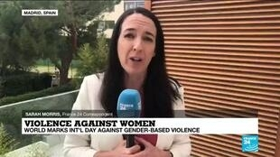 2020-11-25 13:14 Violence against women: Spain's fight against domestic abuse
