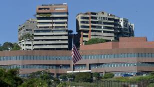 L'ambassade des États-Unis à Caracas.