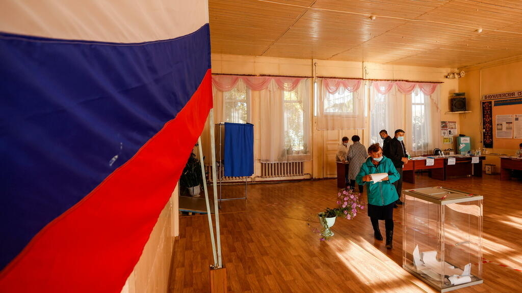 Putin's United Russia party set to retain majority as parliamentary elections wrap up