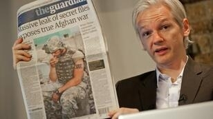 Julian Assange in 2010, when WikiLeaks stunned the United States by publishing tens of thousands of secret files on the US war in Afghanistan