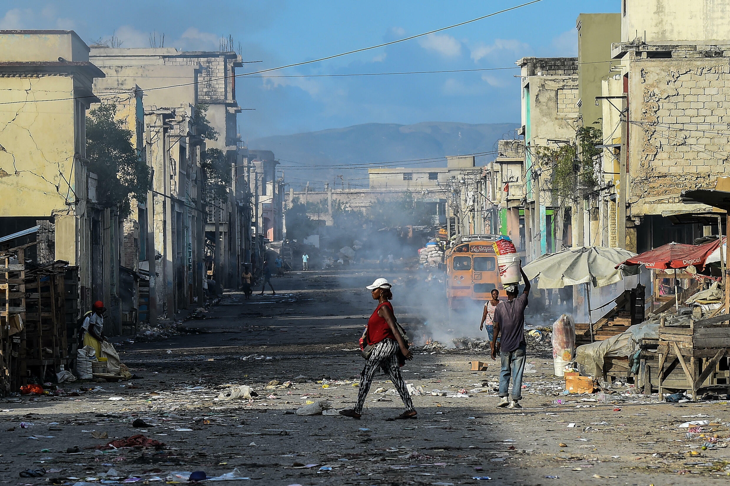 Haiti has been plagued by multiple crises in 2021, including the abduction of some 15 missionaries and children by a criminal gang operating in and around the capital Port-au-Prince