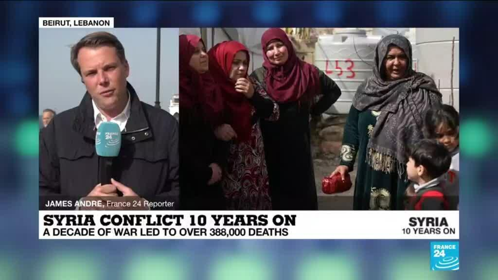 2021-03-15 14:05 Syria civil war 10 years on: Conditions worsening for refugees in Lebanon