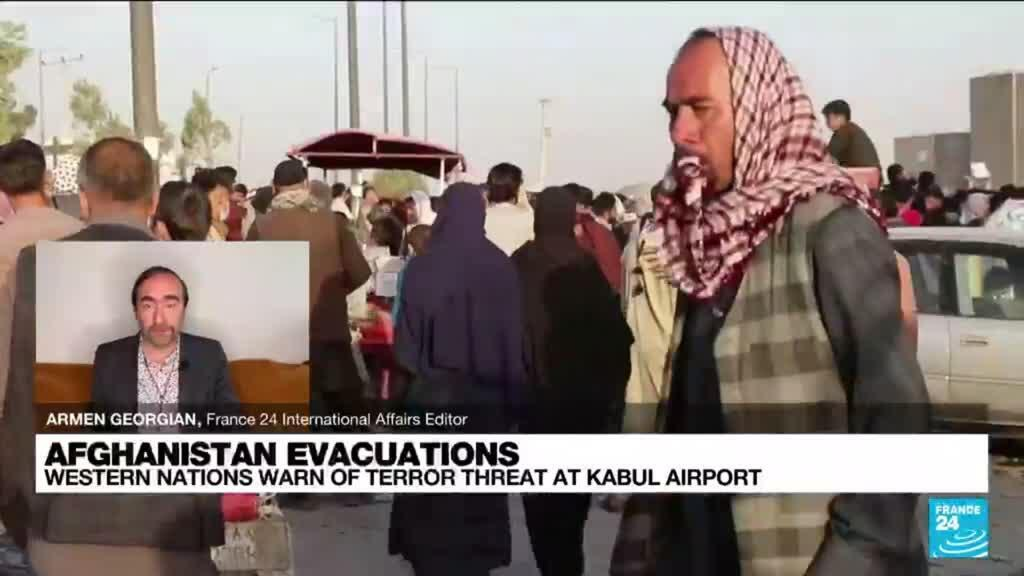 2021-08-26 11:02 'Very credible threat of imminent Kabul airport attack' warn Western nations