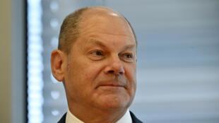 Le ministre allemand des Finances Olaf Scholz avant son audition par une commission parlementaire, le 29 juillet 2020 à Berlin