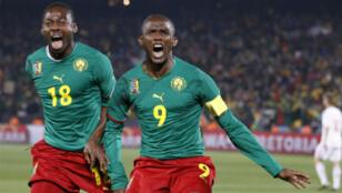 Le Camerounais Samuel Eto'o