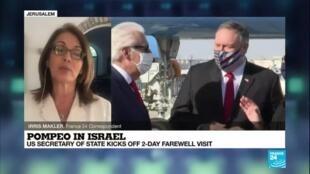2020-11-19 09:02 Pompeo in Israël: US Secretary of State kicks off 2-day farewell visit