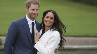 File photo of Meghan Markle and Prince Harry.