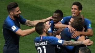 فرنسا تفوز بلقبها العالمي الثاني أمام كرواتيا 15 تموز/يوليو 2018