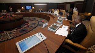 Les pays membres de l'Opep étaient réunis à Alger, mercredi 28 septembre 2016.