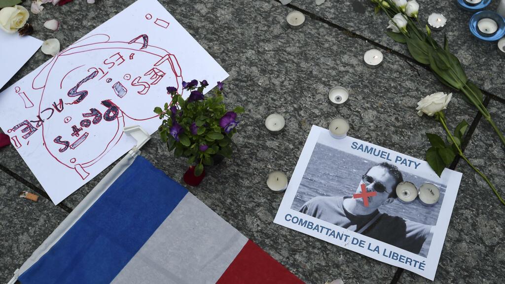 'The violence shook me profoundly': Teachers, students remember Samuel Paty's murder
