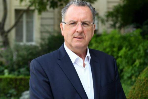 Le député LREM Richard Ferrand, le 23 juin 2017, devant le Palais Bourbon.