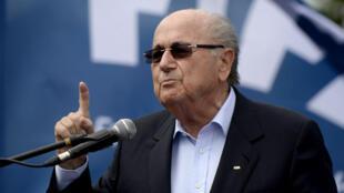 Le président de la Fifa Sepp Blatter.