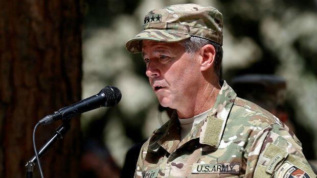 General Scott Miller, the top US commander in Afghanistan