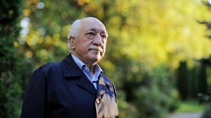 الداعية التركي فتح الله غولن في مقابلة في بنسيلفانيا في 18 يوليو 2016