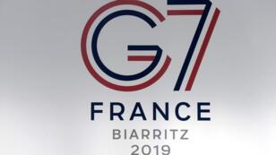 Photographie prise au Poste de commandement interministériel à Biarritz où aura lieu, du 24 au 26 août, le sommet du G7.
