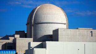 La centrale nucléaire de Barakah aux Emirats arabes unis, photo diffusée le 13 février 2020