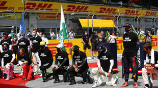 Several drivers missed the protest before the Styrian Grand Prix