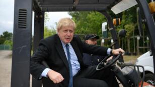 رئيس الوزراء البريطاني الجديد بوريس جونسون