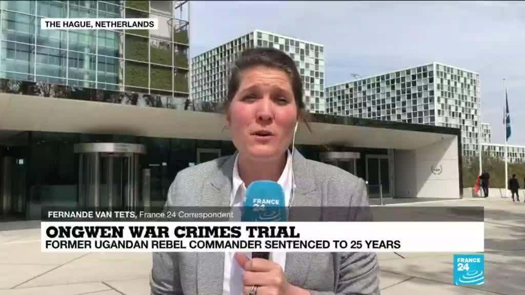 2021-05-06 13:07 Ugandan LRA commander Dominic Ongwen sentenced to 25 years in jail by ICC