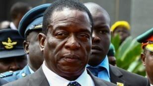 الرئيس الجديد لزيمبابوي إيمرسون منانغاغوا