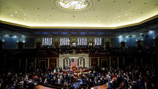 The US House of Representatives cast their votes on a resolution that sets up the next steps in the impeachment inquiry of President Donald Trump on Capitol Hill in Washington, US, on October 31, 2019